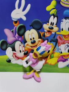 Set 5 figurine personaje Club House Mickey Mouse4