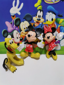 Set 5 figurine personaje Club House Mickey Mouse7