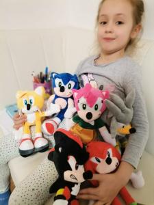 Set 6 buc Jucarii de plus Super Sonic - Set Plusuri Sonic Hedgehog15
