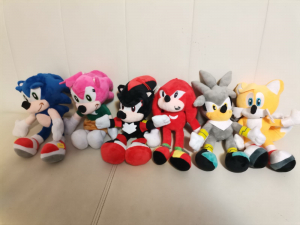 Set 6 buc Jucarii de plus Super Sonic - Set Plusuri Sonic Hedgehog17