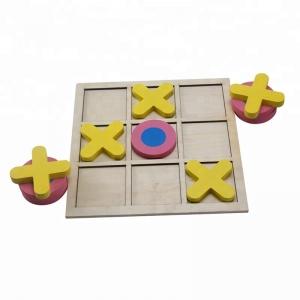 Joc din lemn x si o pentru copii3