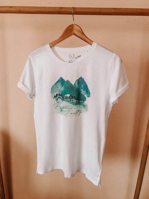 Tricou Mountains are calling Designer`s ART 1