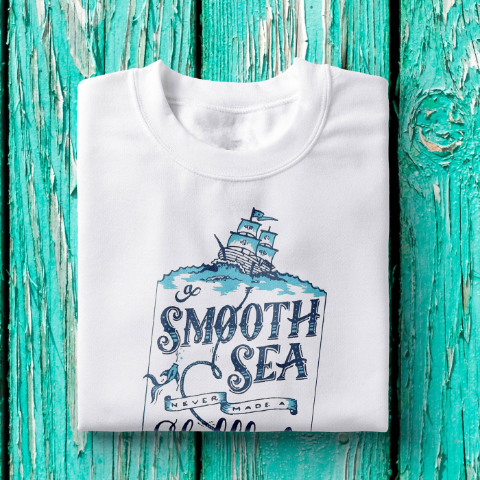Tricou barbati - A smooth sea 1