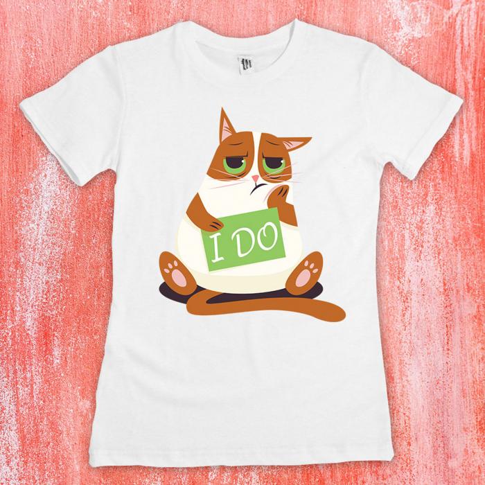 """Set tricouri cuplu - """"I do"""" 1"""