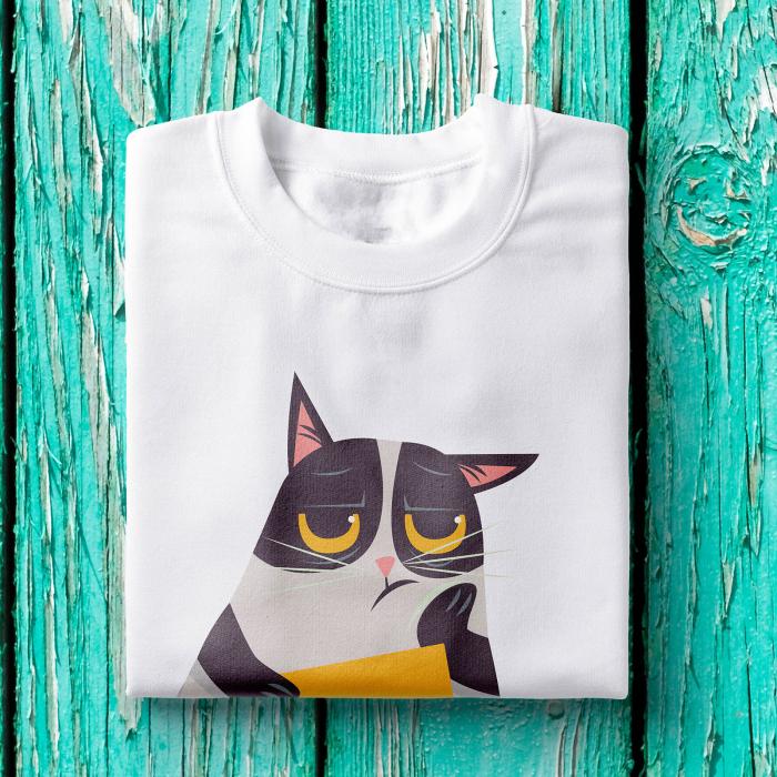 Tricou femei - Grumpy cat 1