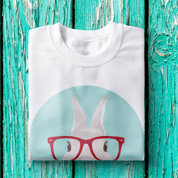 Tricou femei - Hipster bunny 1