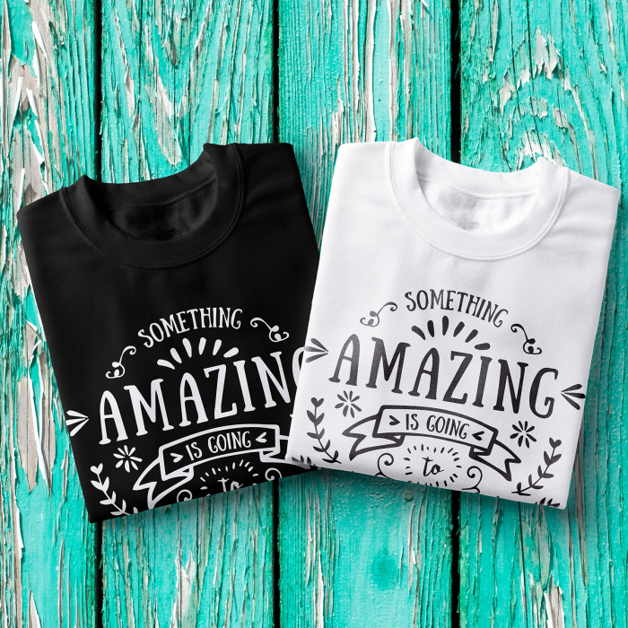 Tricou femei - Something amazing is going to happen today 1