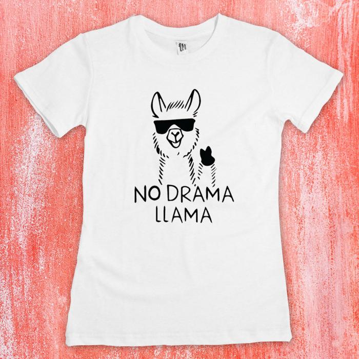 Tricou femei  - No drama llama 1