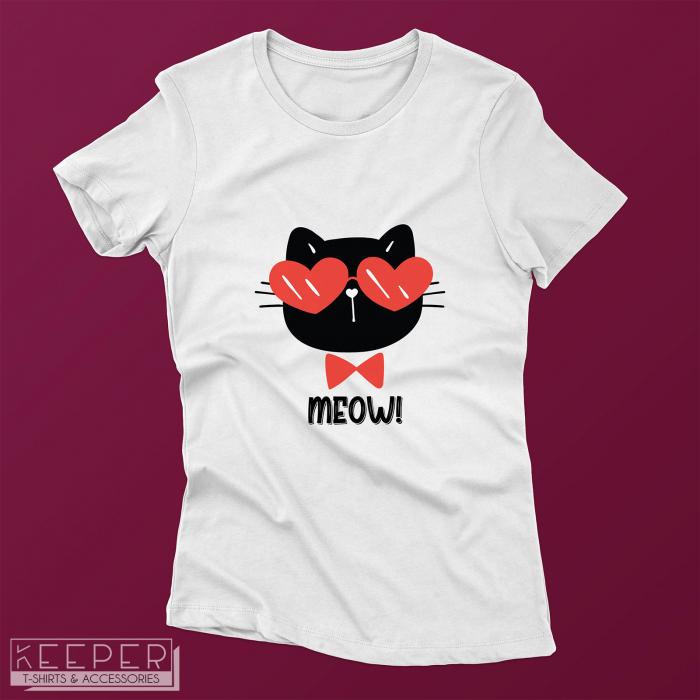 """Tricou femei - """"Meow"""" [0]"""