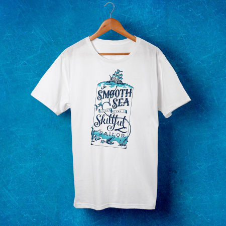 Tricou barbati - A smooth sea0