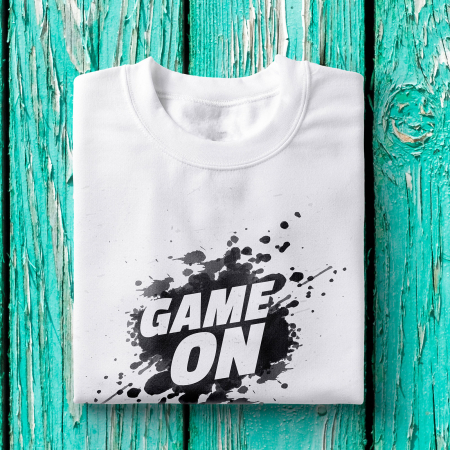Tricou barbati - Game on1