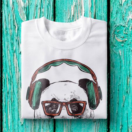 Tricou barbati - Hipster bear1