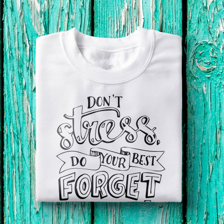 Tricou femei - Don't stress, do your best0