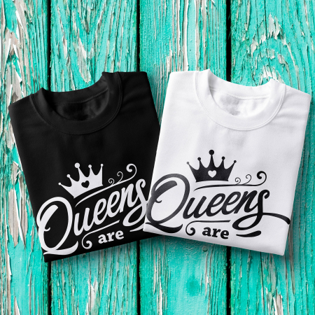 Tricou femei - Queens are born in July1