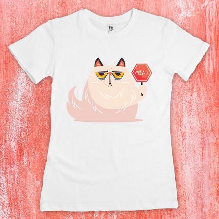 Tricou femei - Miau sign cat1