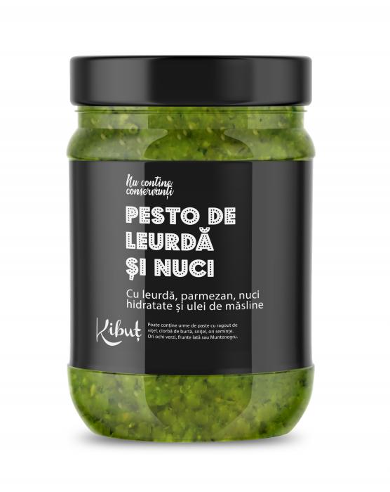 Pesto de leurdă cu nuci 0