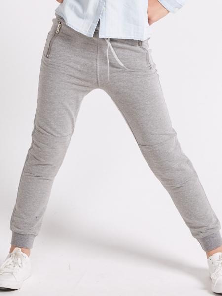 Pantaloni sport gri fete 8-14 ani 0