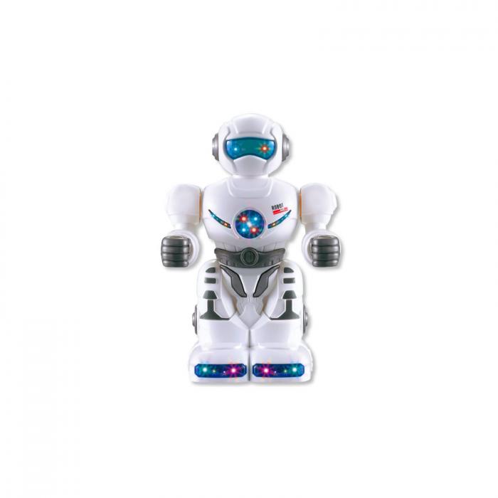 Robot cu lumina si sunete, 18 cm 0