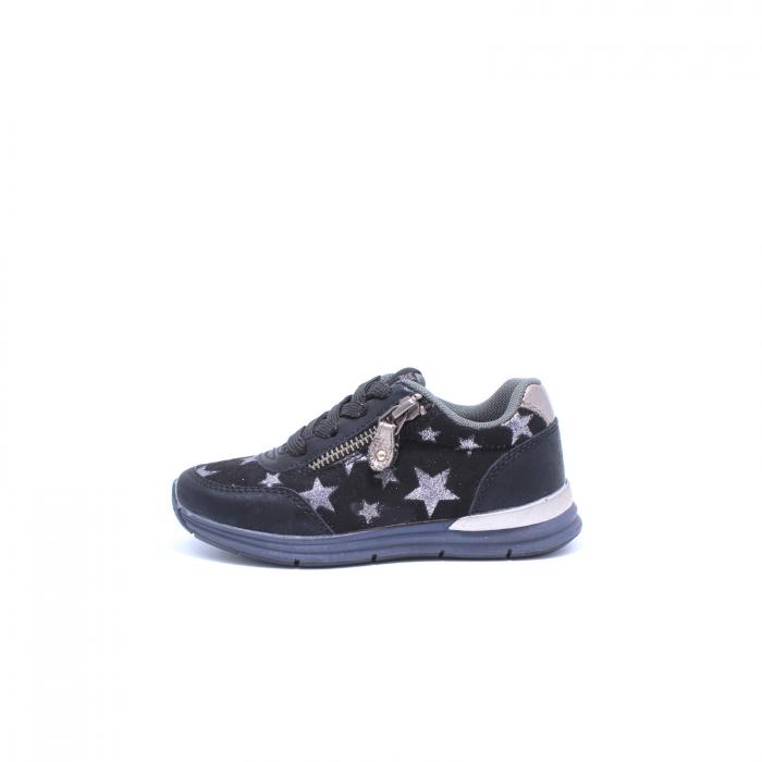Pantofi sport fete, Sprox 427601, negru, 28-34 EU 0