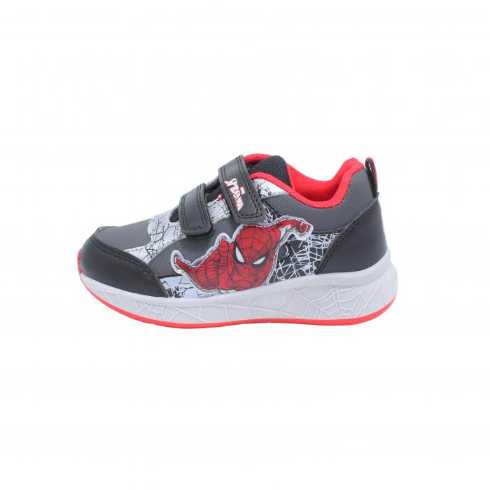 Pantofi sport Spiderman, model 8840 negru-gri, 25-33 EU 0