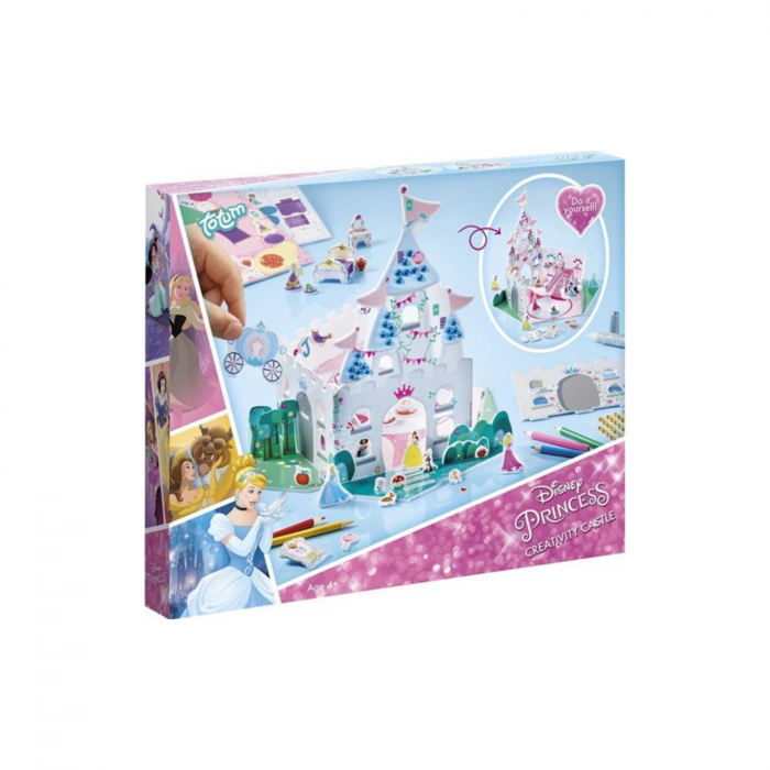 Set creativ Castelul Printeselor Disney, 29 cm 0