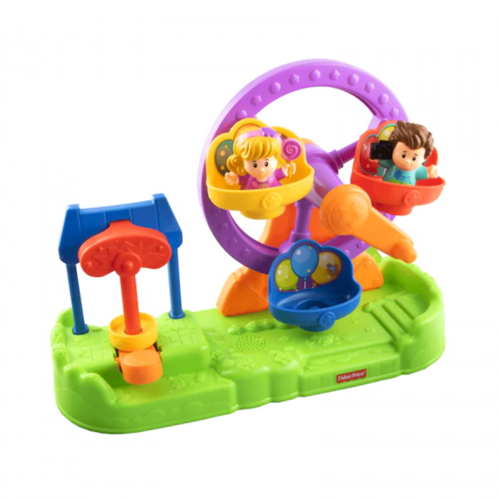 Set de joaca Little People Ferris Wheel cu sunete, Fisher-Price 0