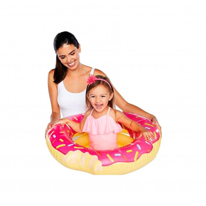"""Colac plutitor 1-3 ani """"Gogoasa roz"""" 68cm 1"""