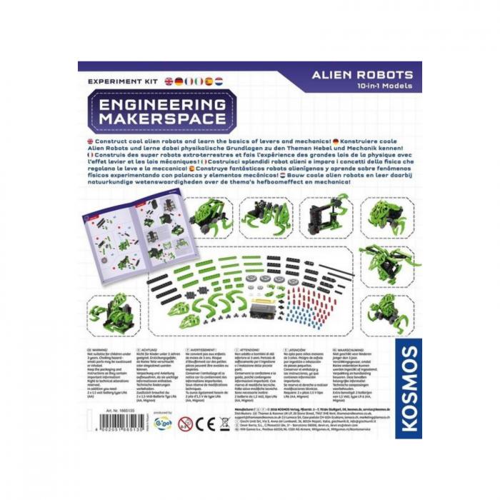 Set constructie Kosmos Engineering, Roboti Extraterestri, 25x28 cm [1]