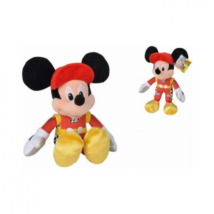 Jucarie de plus Mickey pilotul de curse 25 cm, Disney Roadster Racers 1