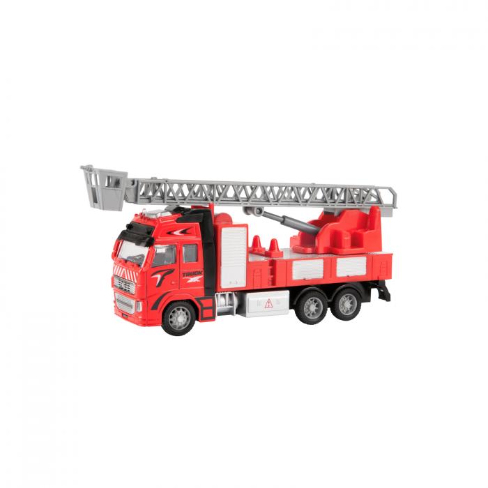 Camion de pompieri de jucarie la scara 1:38, 25 cm 1