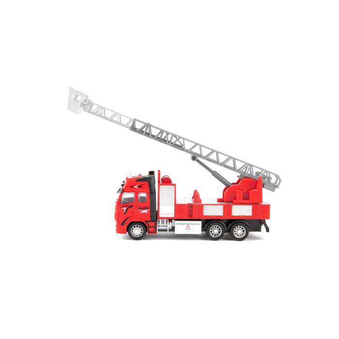 Camion de pompieri de jucarie la scara 1:38, 25 cm 0