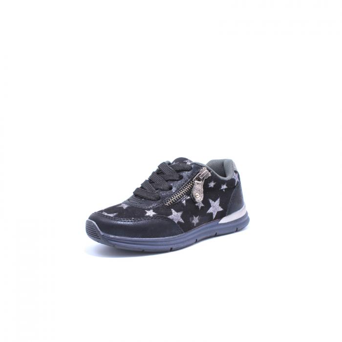 Pantofi sport fete, Sprox 427601, negru, 28-34 EU 1