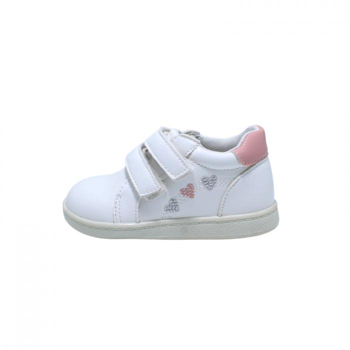 Pantofi sport 20-25 EU, alb, 181950 Happy Bee 0
