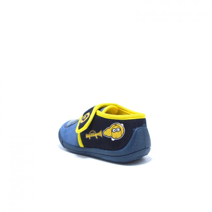 Papuci de interior, Minions 2943, culoare navy, 24-30 EU 4