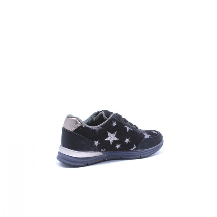 Pantofi sport fete, Sprox 427601, negru, 28-34 EU 3
