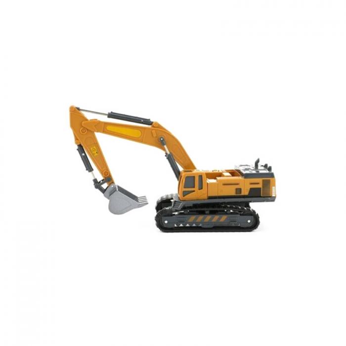 Excavator de jucarie la scara 1:55, din metal, 30 cm [3]