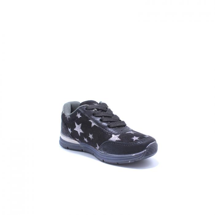 Pantofi sport fete, Sprox 427601, negru, 28-34 EU 2
