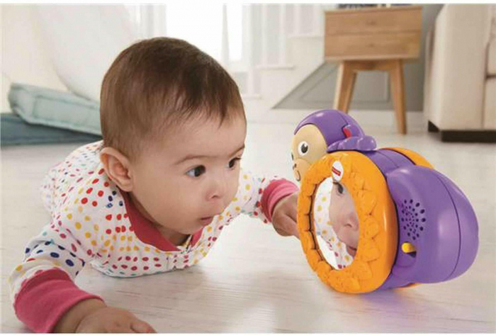 Maimutica taratoare, jucarie interactiva bebelusi, Fisher-Price [2]