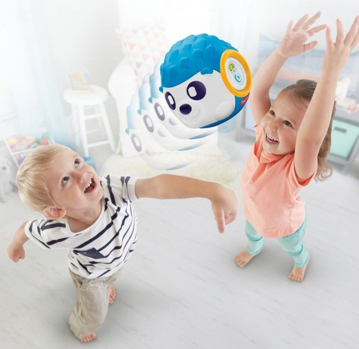 Ariciul Rhythm 'n Roll (UK), jucarie interactiva si educativa prescolari, Fisher-Price 1