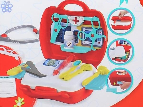 Trusa portabila de doctor 20 accesorii 2