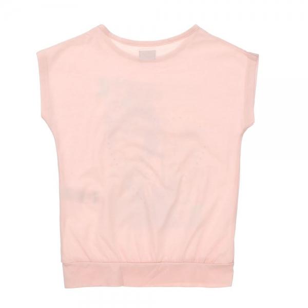 Bluza F&F, roz pal cu imprimeu, 6-13 ani 1