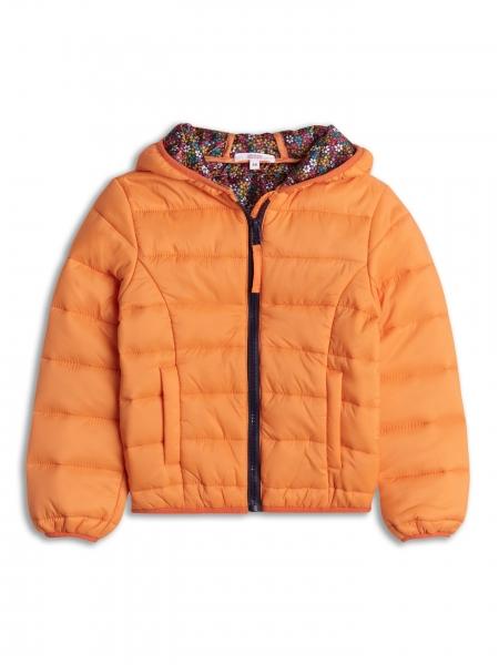 Jacheta usoara portocalie 2-8 ani fetite primavara/toamna 0