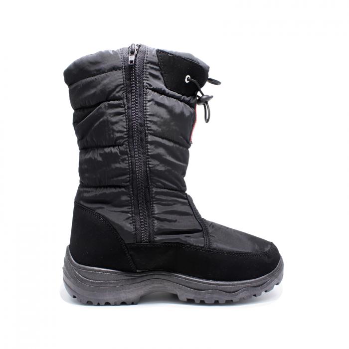 Cizme zapada imblanite pentru femei, Topway 759053, negru, 36-41 EU [1]