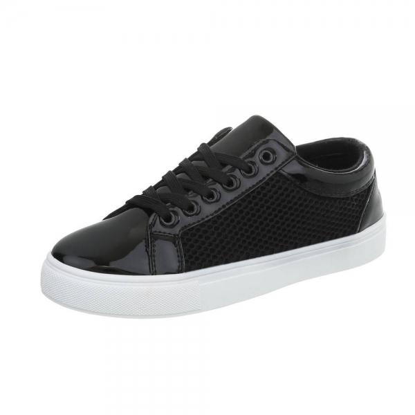 Pantof negru timp liber/leisure de vara pentru femei 0