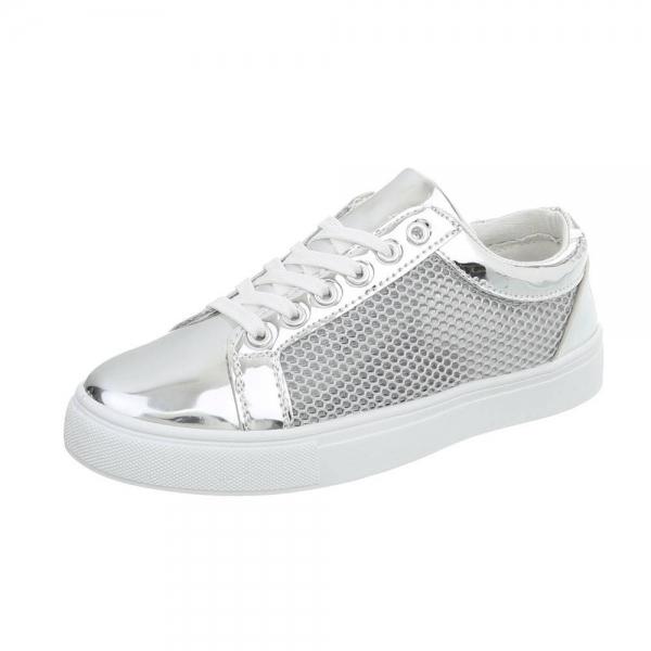 Pantof silver timp liber/leisure de vara pentru femei 0
