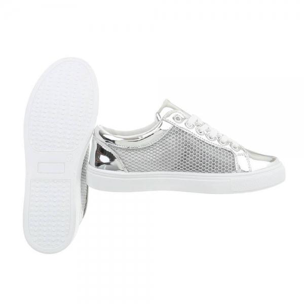 Pantof silver timp liber/leisure de vara pentru femei 2