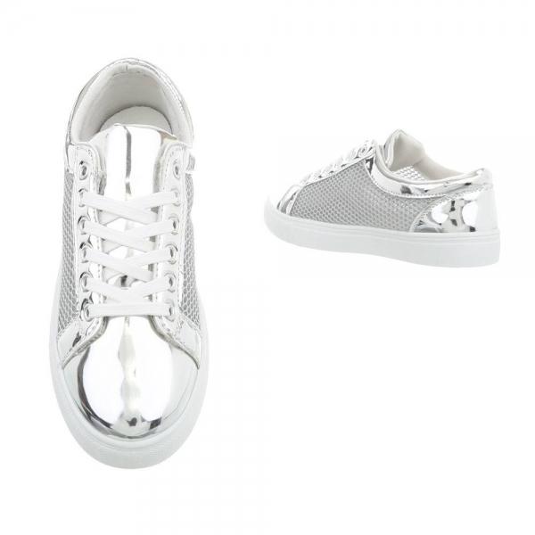 Pantof silver timp liber/leisure de vara pentru femei 1