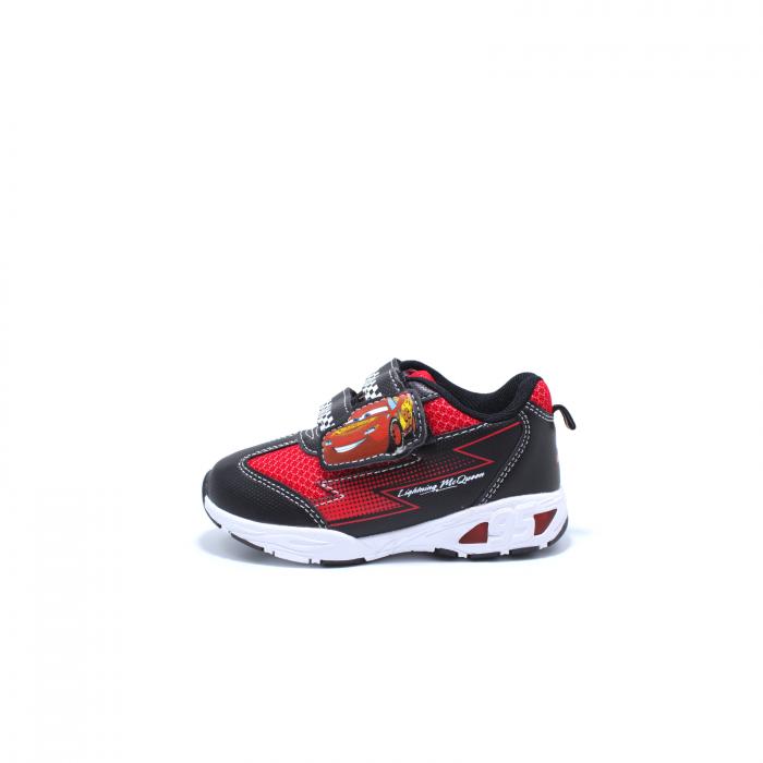 Pantofi sport cu luminite, Disney Cars 3105, negru-rosu, 24-30 [0]