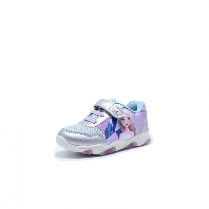 Pantofi sport cu luminite, Frozen FR2095, argintiu, 24-32 1