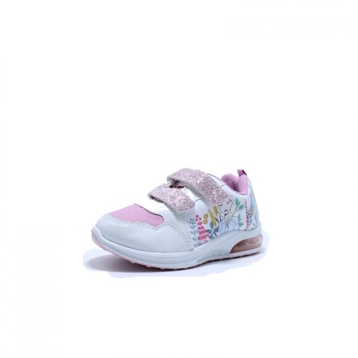 Pantofi sport cu luminite, Frozen FR2415, alb, 24-32 1
